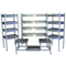 Stainless Steel Benches and Gowning Racks